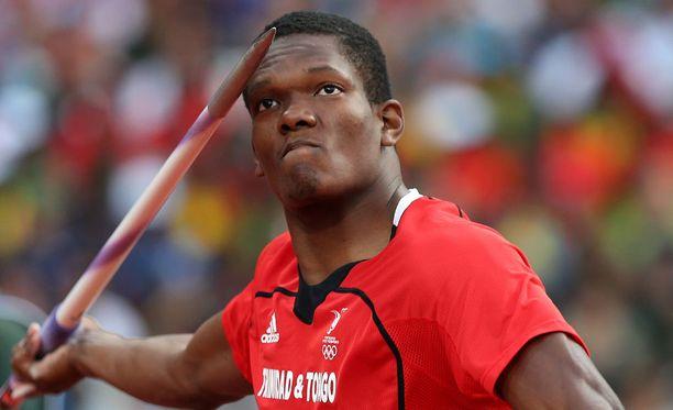 Trinidadin Keshorn Walcott puhkaisi ensimmäisen kerran urallaan 90 metrin rajan.
