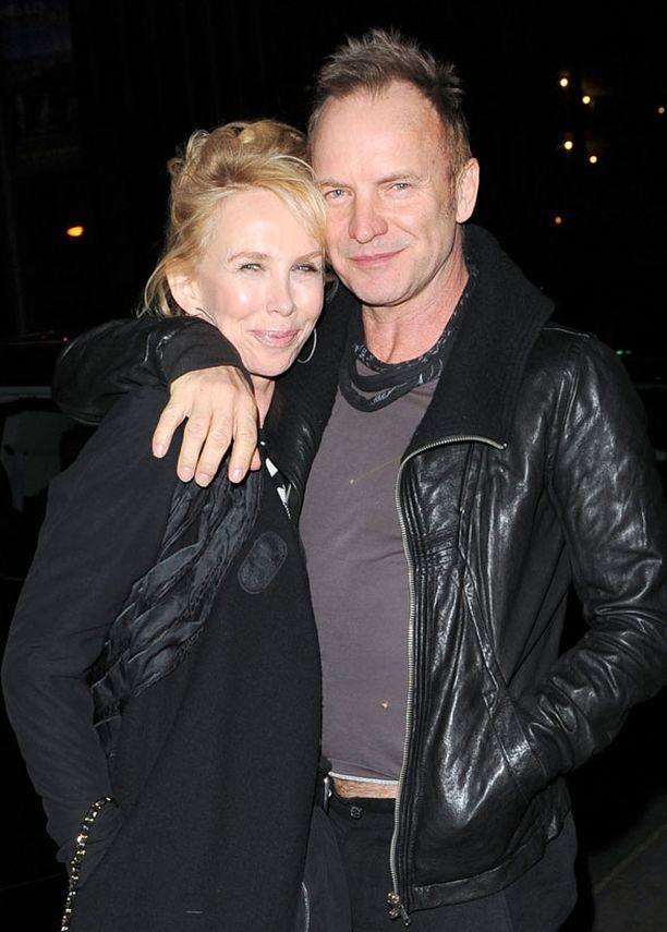 Stingin ja Trudien suhteessa on yhä kipinää.