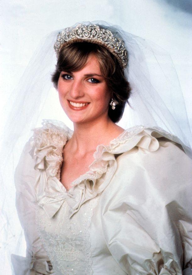 Prinsessa Dianan häätiara.