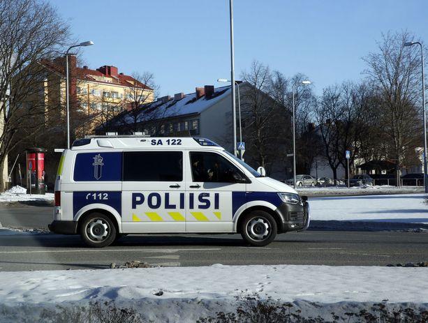 Lounais-Suomen poliisi tekee itseään kansalle tutuksi. Kuvituskuva.