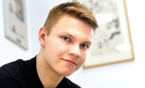 Vili Saarijärvi on ollut hurjassa iskussa U18-turnauksessa.