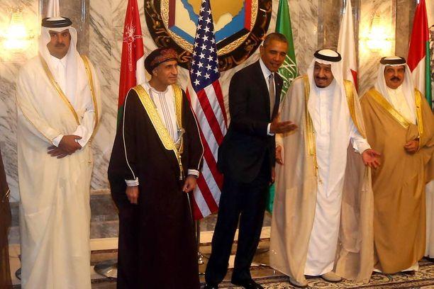 Obama vieraili Saudi-Arabiassa huhtikuussa.