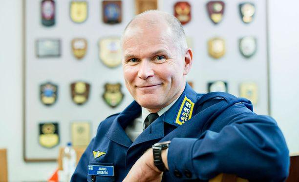 Puolustusvoimain komentaja Jarmo Lindberg.