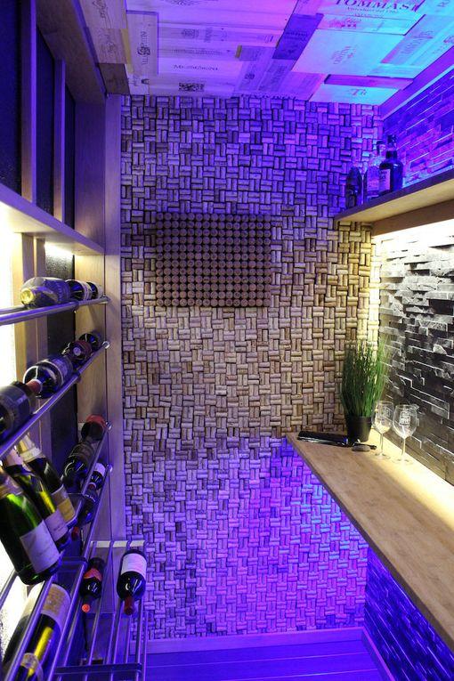 Tältä viinikellarissa näyttää.