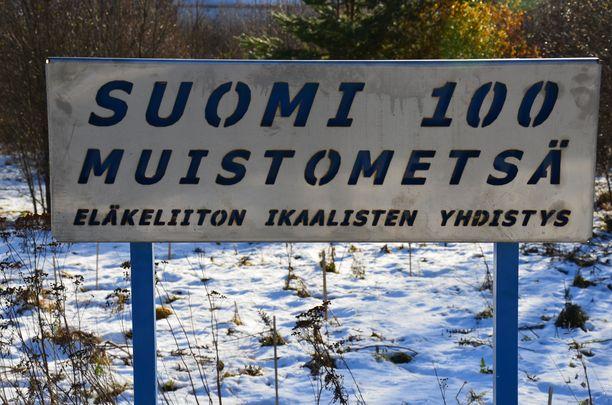 Suomi 100 muistometsä kasvaa, eläkeyhdistys vakuuttaa.