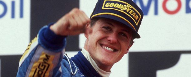 Michael Schumacher vuonna 1994.