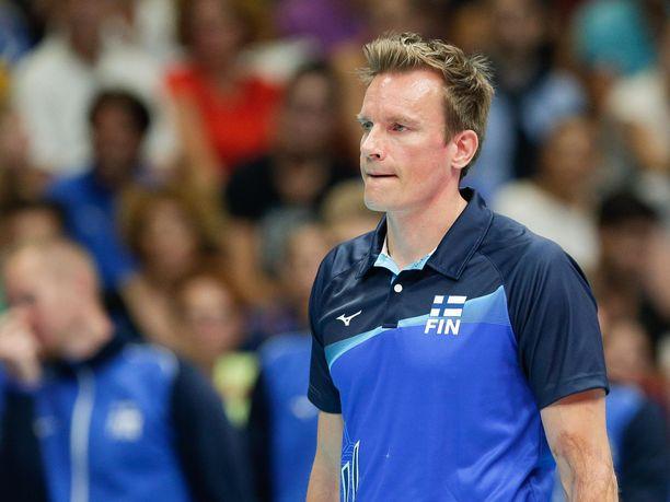 Tuomas Sammelvuo valmensi Suomen miesten maajoukkuetta kevääseen 2019 saakka.
