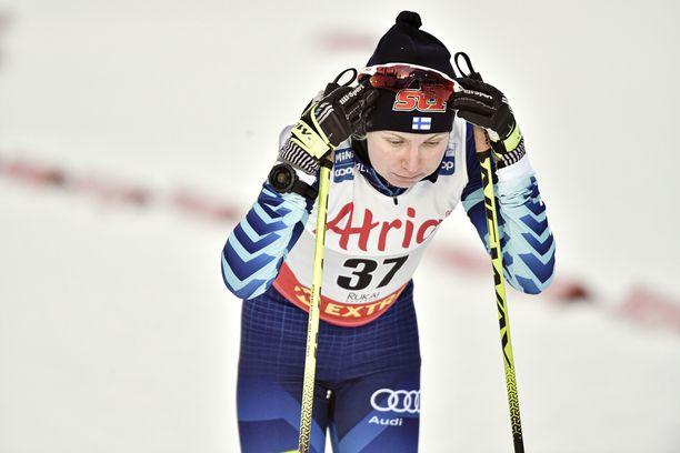 Rukan maailmancupin jälkeen marras-joulukuussa 2020 Susanna Saapungin mitta hiihtoon tuli lopullisesti täyteen.