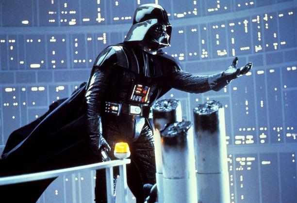 Elokuvasarjan oikeudet ovat Lucasfilmin ostaneella Disneyllä. Kuvassa pahis Darth Vader.