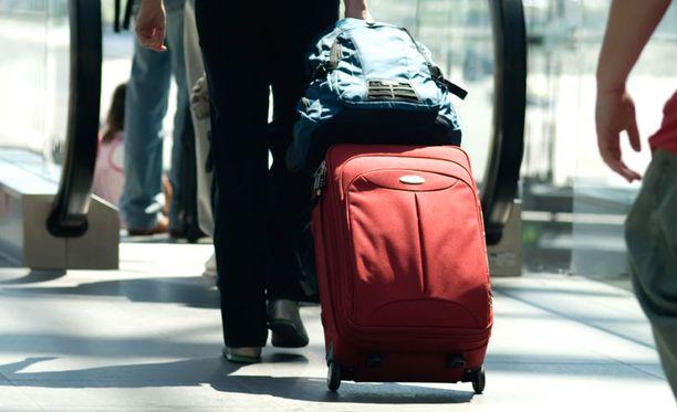 Samsoniten matkalaukuissa todettiin liian suuria määriä DHA-yhdisteitä.