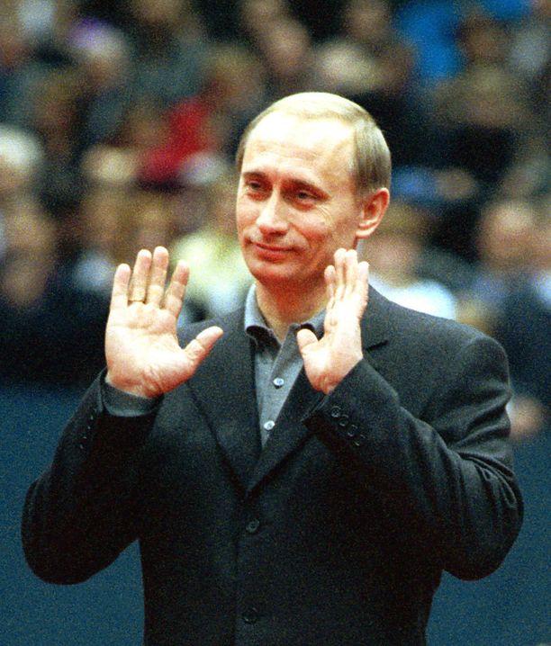 Putin pääministerikaudellaan vuonna 1999.