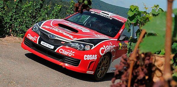 Nicolás Fuchsin auto oli osallisena vakavaan onnettomuuteen.