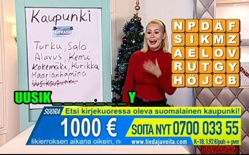 """Suomalaisjuontaja sinnitteli tv-studiossa kesken Kroatian maanjäristyksen – joulukuusikin heilui: """"Siis mitä täällä tapahtuu?"""""""