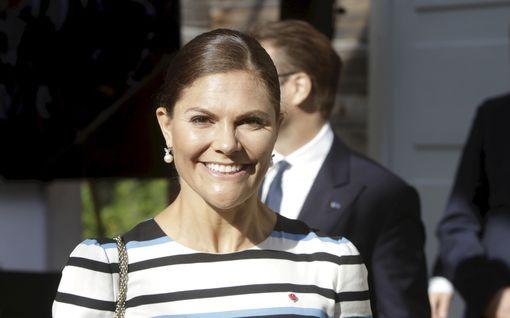 Kruununprinsessa Victoria kutsui syöpäsairaan pikkutytön kuninkaanlinnaan