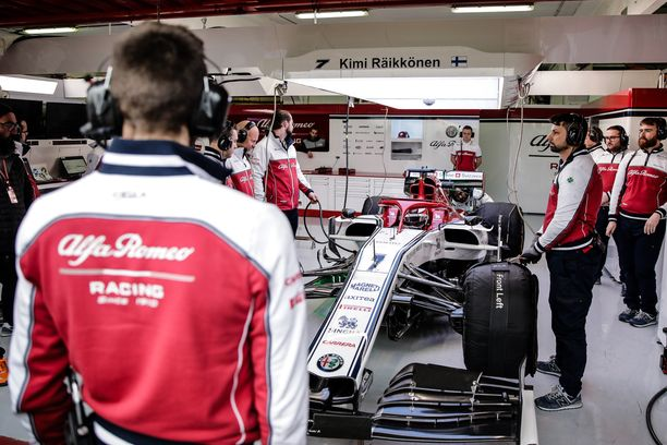 Kimi Räikkönen ajoi 138 kierrosta.