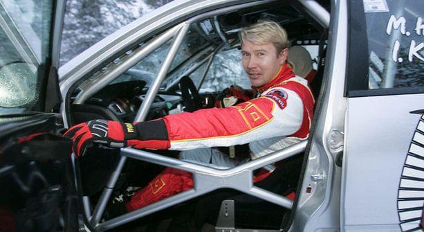 Mika Häkkinen osallistuu Tunturiralliin N-ryhmän Mitsubishillä.