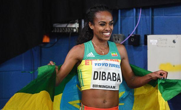 Genzebe Dibaba joutuu kärsimään dopingsyytöksistä.