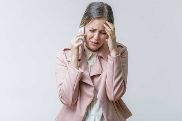 Viaton päänsärky tai huimaus voi joskus säikäyttää.