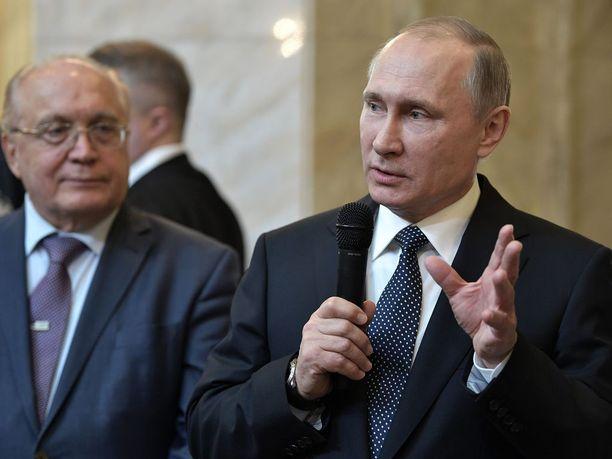 Putin on todennäköisesti valmistautunut hyvin vallan vaihtumiseen Yhdysvalloissa.