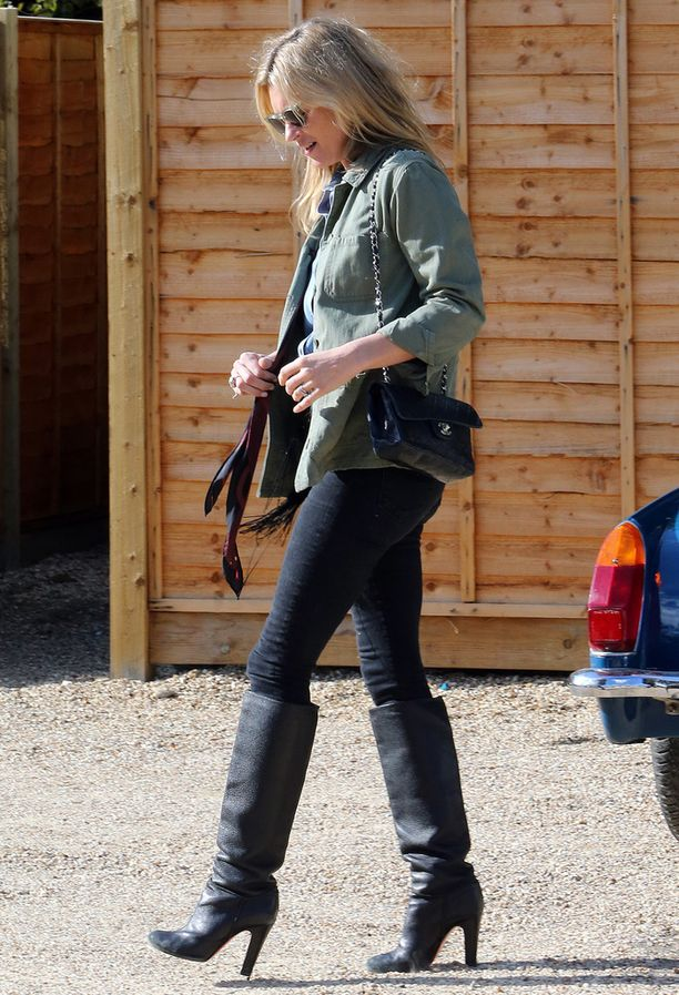 Huippumalli Kate Moss