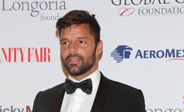 Ricky Martin on nyt rengastettu.