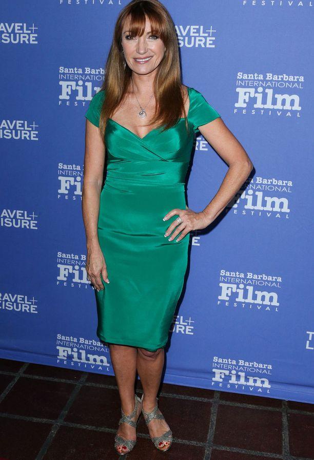 Tuore kuva paljastaa sen, että Jane Seymour on vielä 65-vuotiaana kaunis. Kuva on otettu vain muutama viikko sitten, Santa Barbaran filmifestivaaleilta.