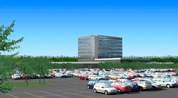 Sunny Car Centeriä on kaavailtu Hämeenlinnaan jo pitkään.