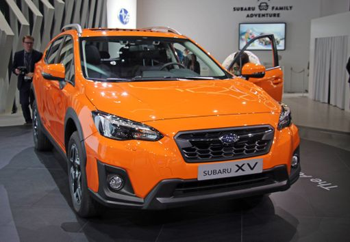 Subaru XV. Voi näyttää tutulta mutta pohjalevystä lähtien uutta tekniikkaa.