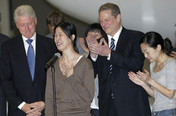 Toimittajien pelastaminen kiillotti Bill Clintonin mainetta.