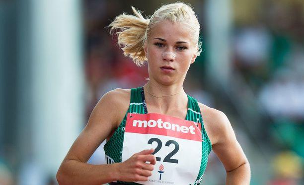 Alisa Vainio hyytyi lopussa dramaattisesti.