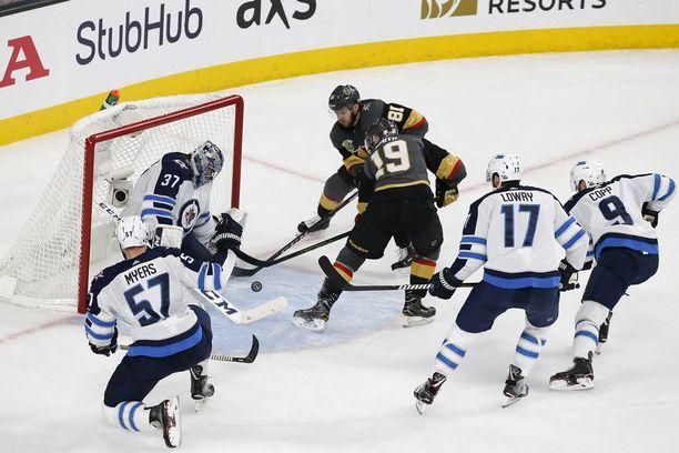 Pelivihjeessä uskotaan Winnipeg Jetsin voittoon Vegas Golden Knightsista.