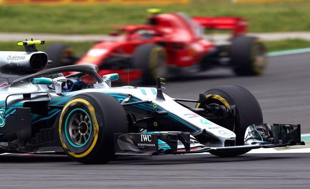 Mercedes oli Espanjan GP:n kuningas.