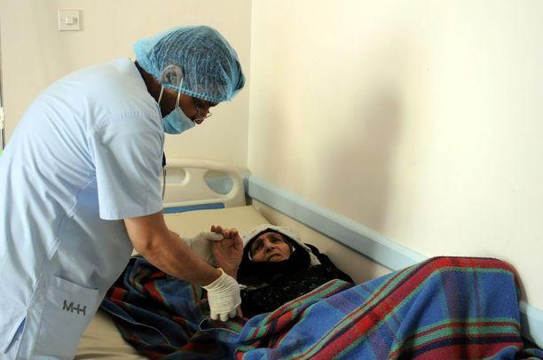 Kaikilla koleraan sairastuneilla ei ole mahdollisuutta saada kunnon hoitoa.