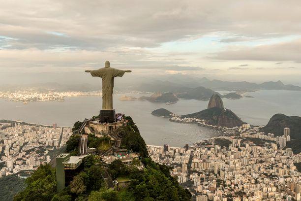 Olikohan tämä kuva Santiagosta, Rio de Janeirosta vai kenties Buenos Airesista...?