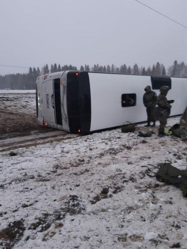 Iisalmessa on tapahtunut suuri tieliikenneonnettomuus.