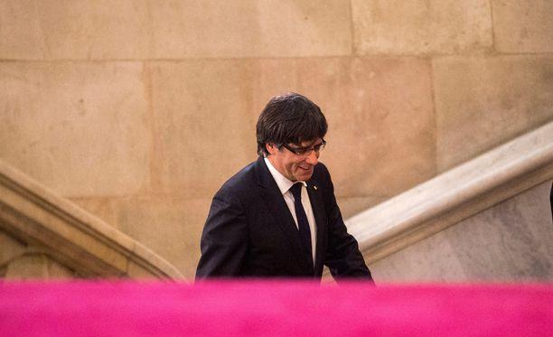 Carles Puigdemont lähti Belgiaan muutamia päiviä sitten.