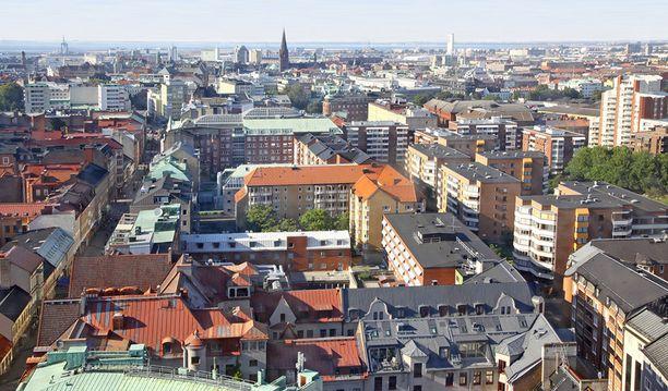 Etelä-Ruotsissa sijaitsevassa Malmössa on reilut 300 000 asukasta.