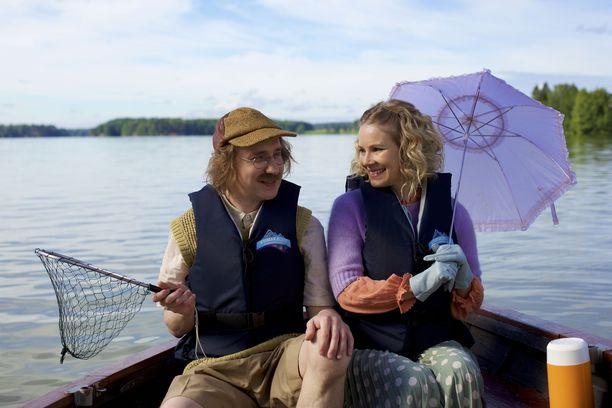 Ylermi Rajamaa on Lennart Lindberg ja Pamela Tola Rauha Räppääjä helmikuun 15. päivänä ensi-iltaan tulevassa Risto Räppääjä ja pullistelija -elokuvassa.