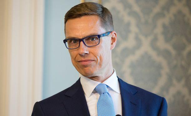 Alexander Stubb on kokoomuksen kansanedustaja ja entinen ministeri.