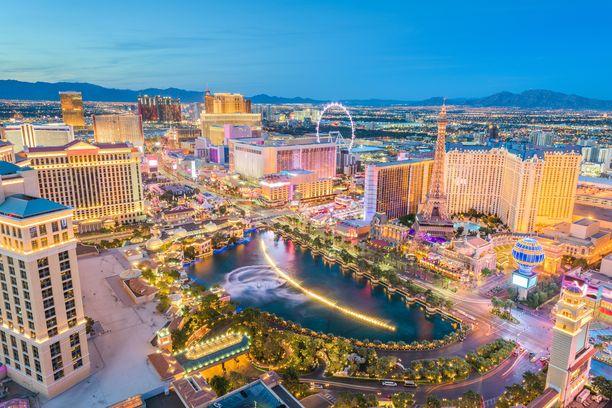 Las Vegasissa asuu arviolta  hieman alle 650 000 ihmistä.