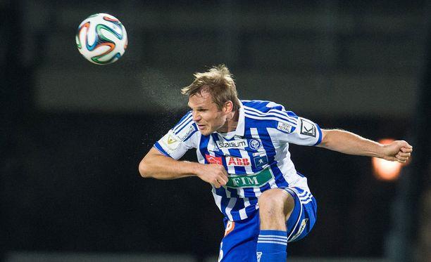 Markus Heikkinen on johtanut HJK:n takalinjoja kahden kauden ajan.