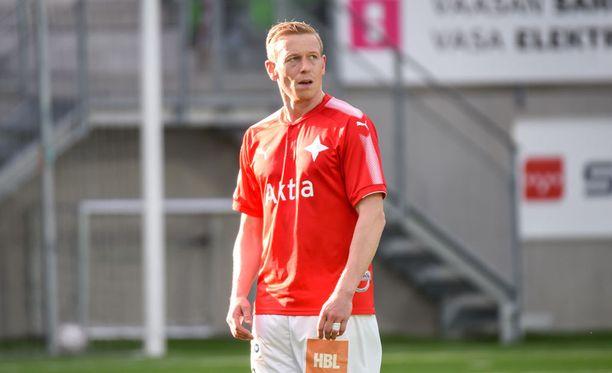 Mikael Forssell teki HIFK:n voittomaalin.