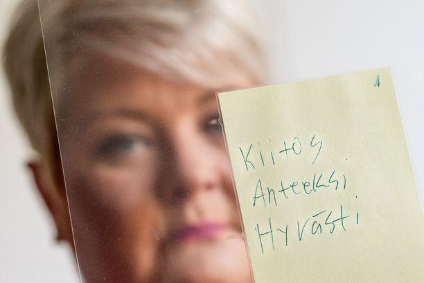 Sari Palmusen Mikko-poika jätti jälkeensä viestin, jota yksikään äiti ei haluaisi saada.