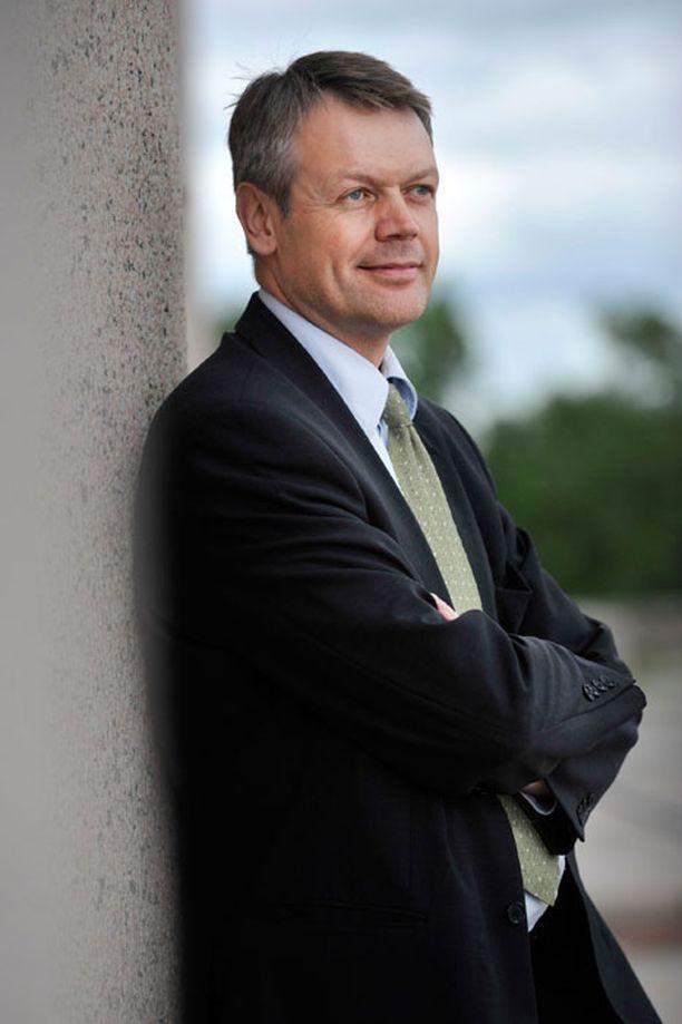Timo Kaunisto on viimeisin keskustan puheenjohtajakisaan ilmoittautunut ehdokas.
