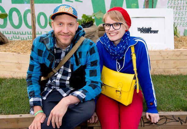 Anni Nykänen ja Kobra Koskinen.