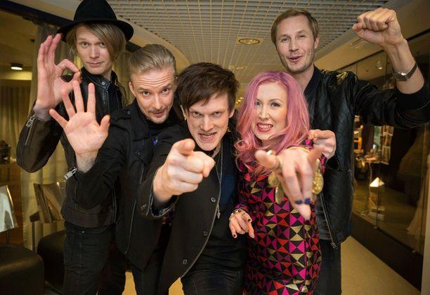 UMK-karsinnan ennakkosuosikki Järjestyshäiriö aikoo ottaa mallia Kojosta, joka sai aikoinaan nolla pistettä Euroviisuissa.