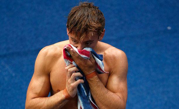 Tom Daley jäi 10 metrin uimahyppyfinaalista.