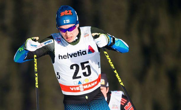 Matti Heikkinen piti parasta suomalaisvauhtia.