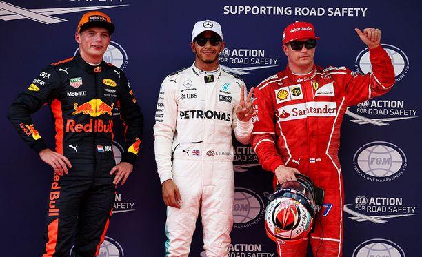 Malesian GP:n aika-ajon kärkikolmikko tietää, että ykkösmutkassa voi sattua ja tapahtua.