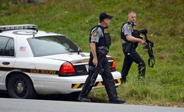 Freinin etsintään osallistui noin tuhat viranomaista, muun muassa Yhdysvaltain keskusrikospoliisi FBI.
